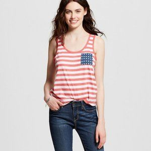 Fifth Sun Stripe & Star Pocket Graphic 4th Of July